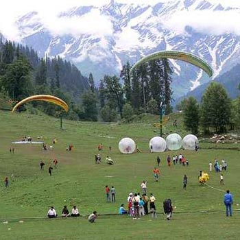 Delhi - Manali Bus Package - 2 Night / 3 Days