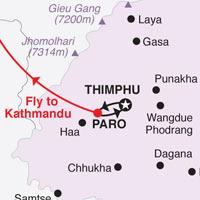 Western Bhutan Tour (8 D & 7 N)