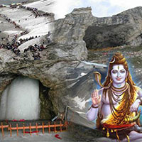Srinagar - Pahalgam - Amarnath Yatra - Pahalgam - Srinagar  4 Nights & 5 Days
