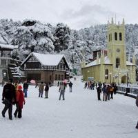 Pathankot - Dharamsala - Shimla Package