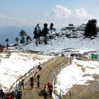 Shimla Honeymoon Tour From Delhi With Manali - Rohtang Pass
