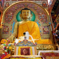 Buddhist Temple With East India Tour